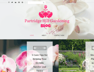 partridgehillgarden.com screenshot