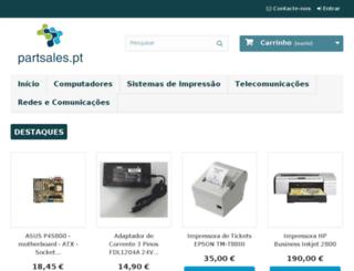 partsales.pt screenshot