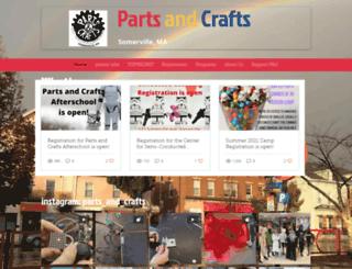 partsandcrafts.org screenshot