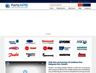 partsaps.com screenshot