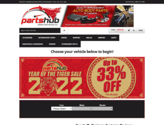 partshub.ca screenshot