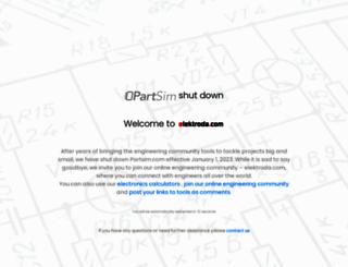 partsim.com screenshot