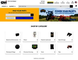 partstore.agriculture.newholland.com screenshot