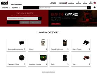 partstore.caseih.com screenshot