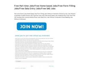 parttimeonlinejobs-homebasedjobs.blogspot.com screenshot