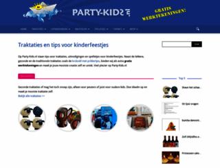 party-kids.nl screenshot