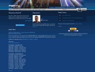 party107.com screenshot