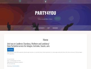 party4you.de screenshot