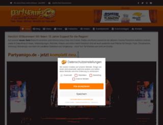 partyamigo.de screenshot