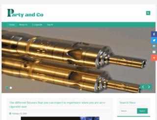 partyandco.com.au screenshot