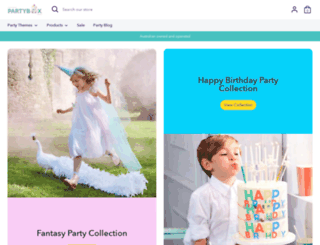 partybox.com.au screenshot