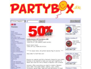 partybox.dk screenshot