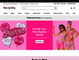 partycity.com screenshot