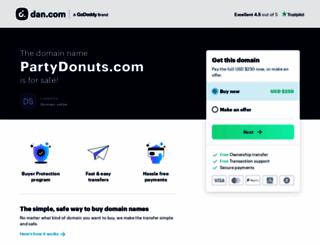 partydonuts.com screenshot