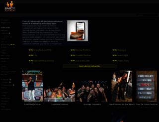 partyflock.nl screenshot