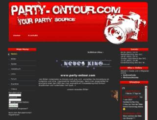 partyon.pytalhost.com screenshot