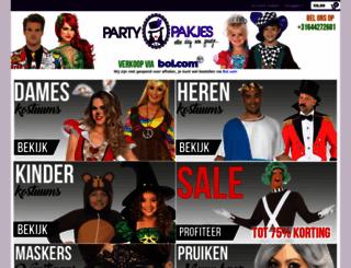 partypakjes.nl screenshot