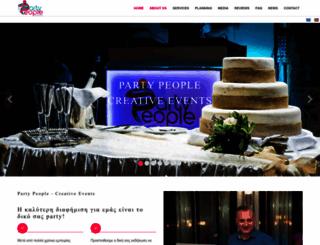 partypeople.gr screenshot