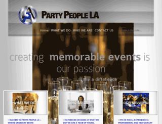 partypeople.la screenshot