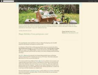 partypicnic.blogspot.com screenshot
