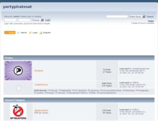 partypiratesat.createaforum.com screenshot