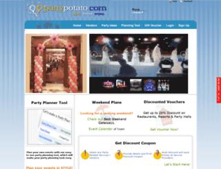 partypotato.com screenshot