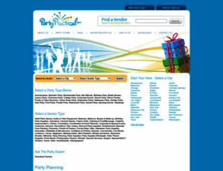 partypractical.com screenshot