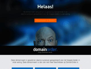 partyrama.nl screenshot