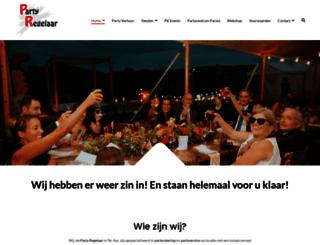 partyregelaar.com screenshot