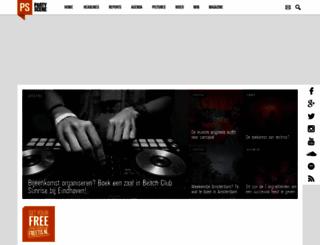 partyscene.nl screenshot