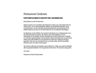 partyservicebreet.nl screenshot