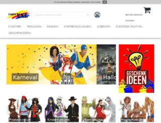 partyshopberlin.de screenshot
