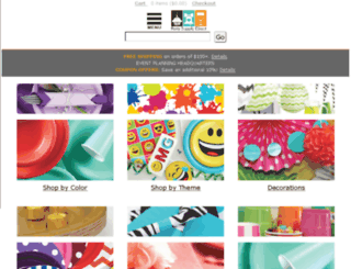 partysupplydirect.com screenshot