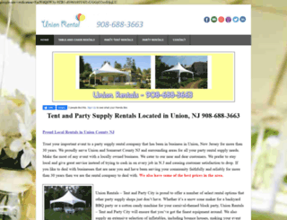 partytentrentals-unioncountynj.weebly.com screenshot
