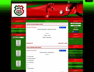 partyzantjun.futbolowo.pl screenshot