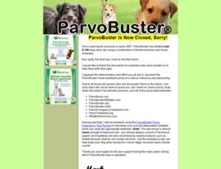 parvoemergencytreatment.com screenshot