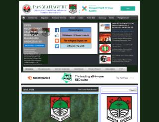 pas-mahaguru.blogspot.com screenshot