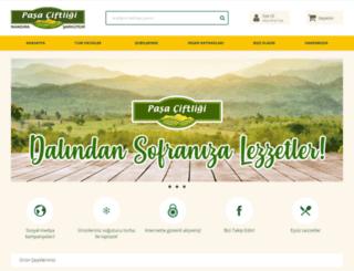 pasaciftligi.com.tr screenshot