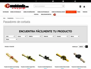 pasadordecorbata.com screenshot