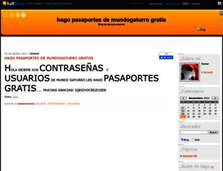 pasagatu.fullblog.com.ar screenshot
