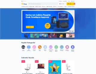 pasaj.com screenshot