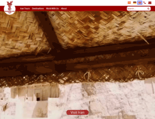 pasargad-tours.com screenshot