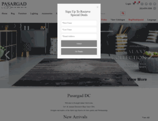 pasargad.com screenshot