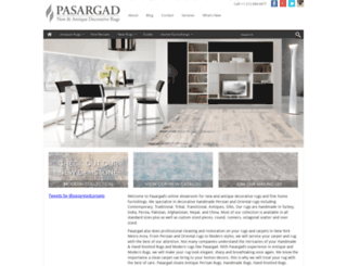 pasargadcarpets.com screenshot