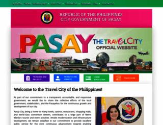 pasay.gov.ph screenshot