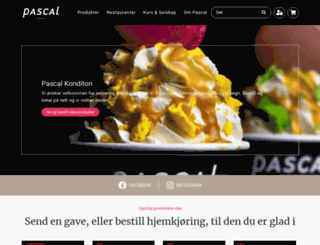 pascal.no screenshot