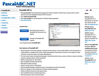 pascalabc.net screenshot