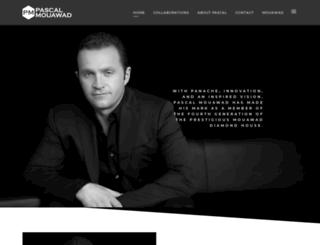 pascalmouawad.com screenshot