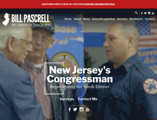 pascrell.house.gov screenshot
