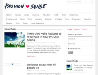 pashionsense.com screenshot